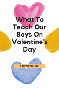 boy mom valentine's day